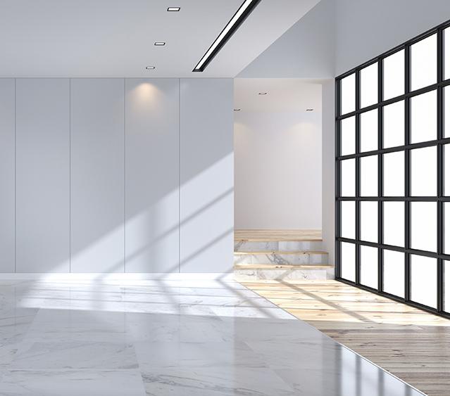 Pavimentos, suelo blanco y madera